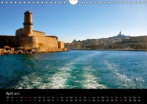 Marseille in my Heart (Wall Calendar 2015 DIN A4 Landscape)