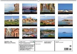 Ligurien - die italienische Riviera (Wandkalender 2016 DIN A2 qu