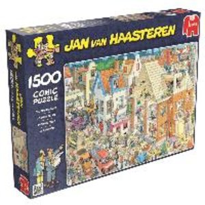 Jan van Haasteren - Die Baustelle - 1500 Teile