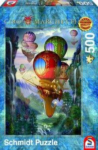 Schmidt Spiele 59274 - Ciro Marchetti, Luftschiffe, Puzzle, 500