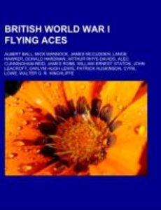 British World War I flying aces