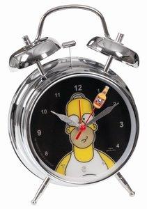 United Labels 0112233 - Simpsons: Wecker mit Wackelbild Homer