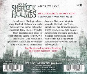 Young Sherlock Holmes.Der Tod Liegt In Der Luft