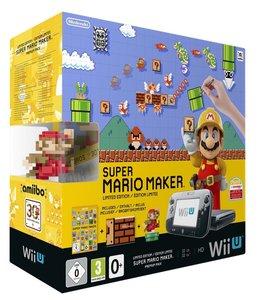 Nintendo Wii U Konsole Premium Pack - Schwarz - inklusive Super