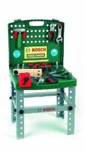 Theo Klein 8686 - transportable Bosch Werkbank mit Akkuschrauber