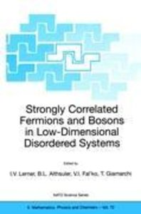 Strongly Correlated Fermions and Bosons in Low-Dimensional Disor