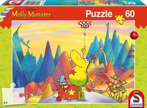Molly Monster, Molly Monster auf Reisen, 60 Teile Puzzle