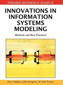 Innovations in Information Systems Modeling: Methods and Best Pr