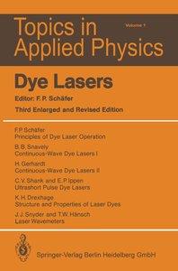 Dye Lasers