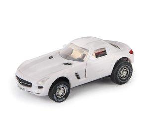 Simm 50375 - Darda: Mercedes Benz SLS AMG, mystic weiß