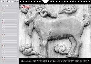 Stanzer, E: Chinesische Horoskop / Geburtstagskalender (Wand