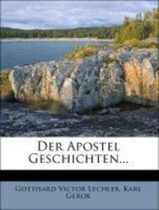 Der Apostel Geschichten...