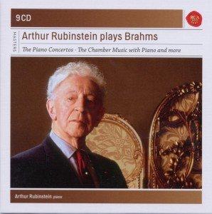 Rubinstein plays Brahms-Sony Classical Masters
