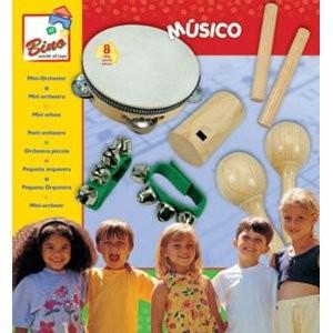 Bino 86550 - Mini Orchester, 8 Teile - zum Schließen ins Bild klicken