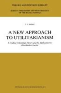 A New Approach to Utilitarianism