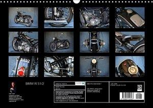 BMW R 51/2 (Wandkalender 2017 DIN A3 quer)