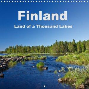 Finland - Land of a Thousand Lakes (Wall Calendar 2015 300 × 300