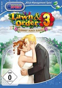 Lawn & Order 3: Querbeet durch Europa (Klick-Management-Spiel)