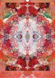 Ornements de Fleurs (Calendrier mural 2015 DIN A3 vertical)