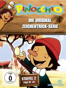 Pinocchio TV-Serien-Box 2,Flg 19-35