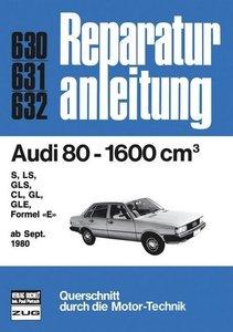 Audi 80-1600 cm³ ab 09/1980