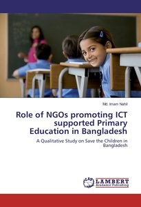 Role of NGOs promoting ICT supported Primary Education in Bangla
