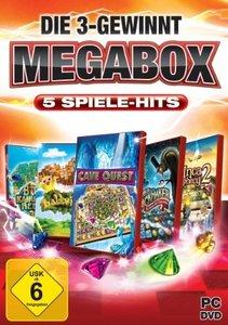 Die 3-Gewinnt Megabox - 5 Spiele-Hits!