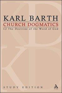 Barth, K: Church Dogmatics Study Edition 4