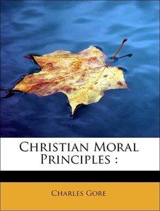 Christian Moral Principles :