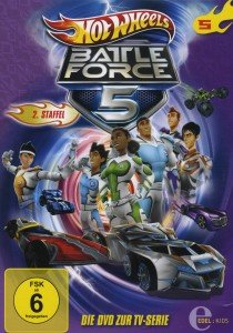 Hot Wheels/Battle Force 5: (5)DVD z.TV-Serie