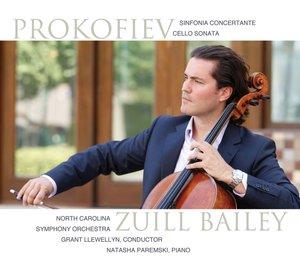 Sinfonia concertante in e-moll/Cellosonate C-Dur