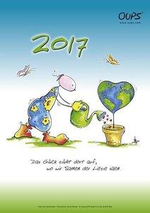 Oups Wandkalender 2017