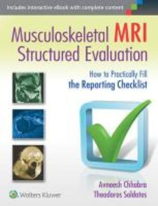 Musculoskeletal MRI Structured Evaluation