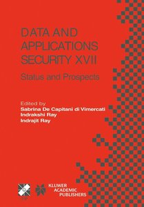 Data and Applications Security XVII