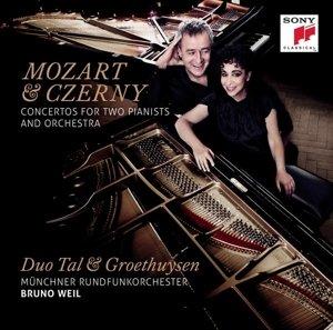 Mozart&Czerny Konzerte für 2 Pianisten + Orchester