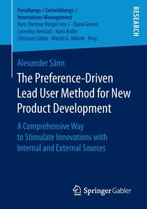 The Preference-Driven Lead User Method for New Product Developme
