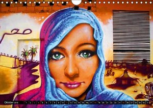 Stanzer, E: Graffitis . Straßenkunst (Wandkalender 2015 DIN