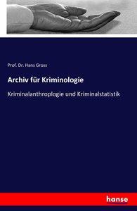Archiv für Kriminologie