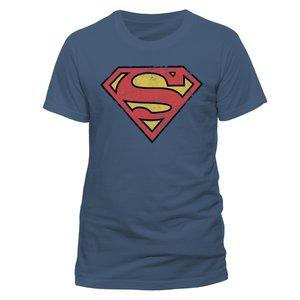 Vintage Logo (T-Shirt,Blau,Größe M)