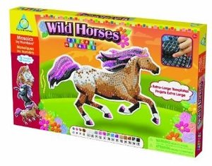 Invento 620862 - The Orb Factory: Sticky Mosaics - Wild Horses