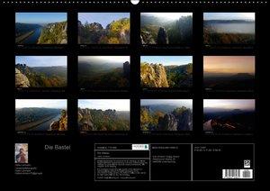 Die Bastei (Wandkalender 2016 DIN A2 quer)