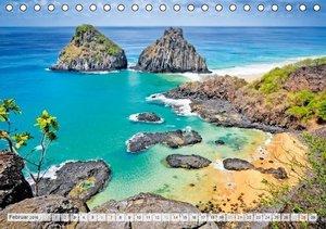 Paradiesisches Brasilien (Tischkalender 2016 DIN A5 quer)