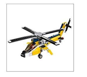 LEGO® Creator 31023 - Gelbe Flitzer (Helicopter, Rennwagen, Spee