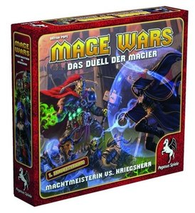 Mage Wars - Machtmeisterin vs. Kriegsherr