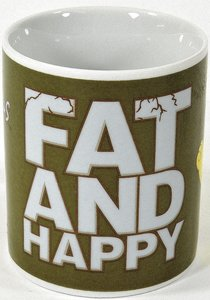 "The Simpsons - Tasse ""Fat and Happy"""