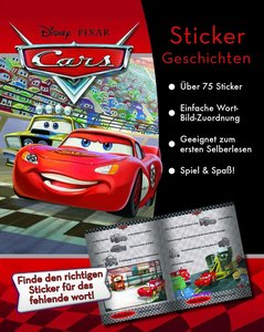 Disney - Cars Stickerbuch