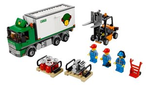 LEGO® City 60020 - Lkw mit Gabelstapler