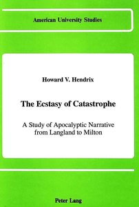 The Ecstasy of Catastrophe