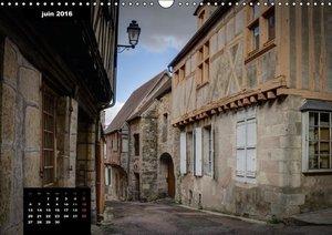 Clamecy, sur les bords de l'Yonne (Calendrier mural 2016 DIN A3