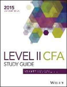 Study Guide for 2015 Level II CFA Exam